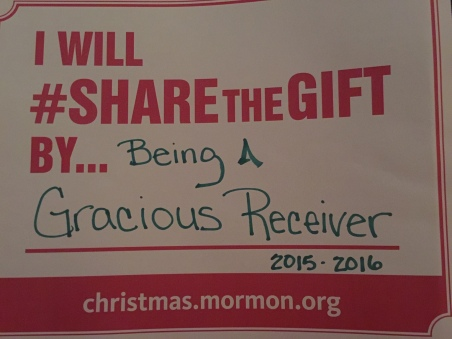2015-16 SHARE THE GIFT