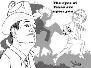 Cruz Eyes of Texas upon Reid