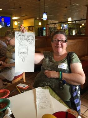 Tica McGarity - Charicature Artist