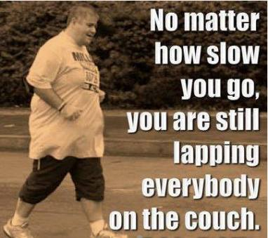 No matter how slow