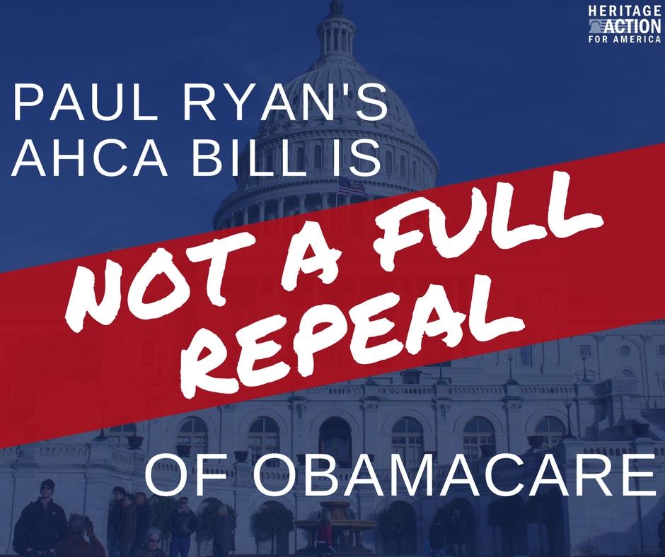 Ryanocare is Not FULL Repeal.jpg